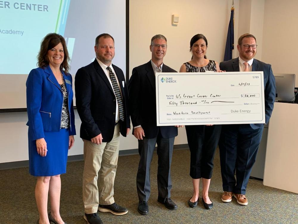Grant receives Workforce Development Grant