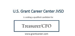 Treasurer Search for U.S. Grant Career Center JVSD