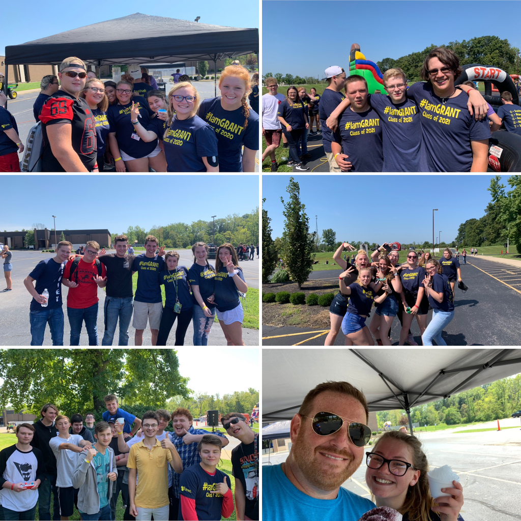 Photo collage from Fantastic Friday 2019.